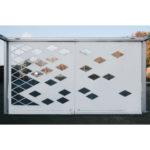 Rideau design losanges pour Premium